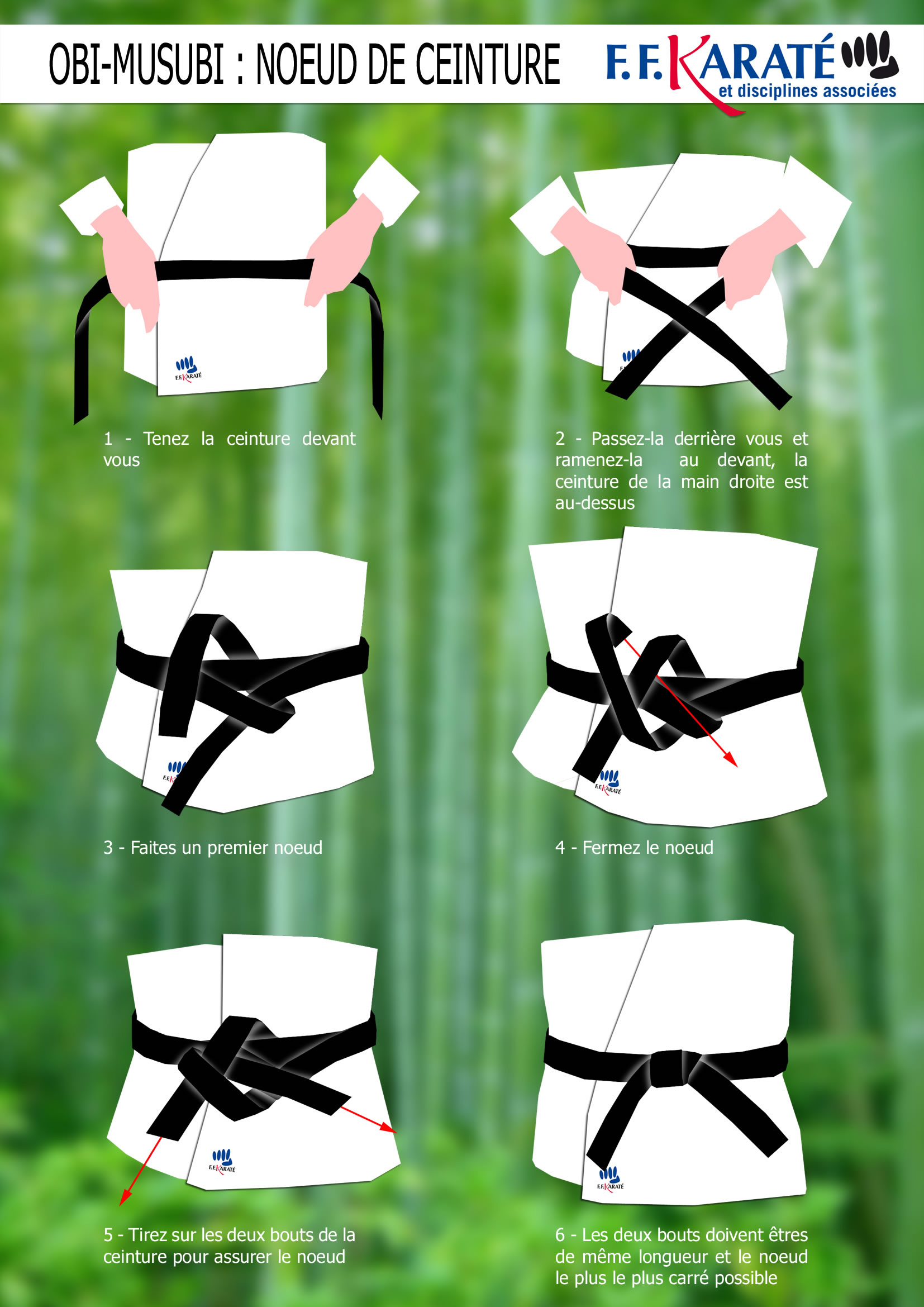 Comment attacher sa ceinture   SHOREI RYU KARATE DO 8a91f651104