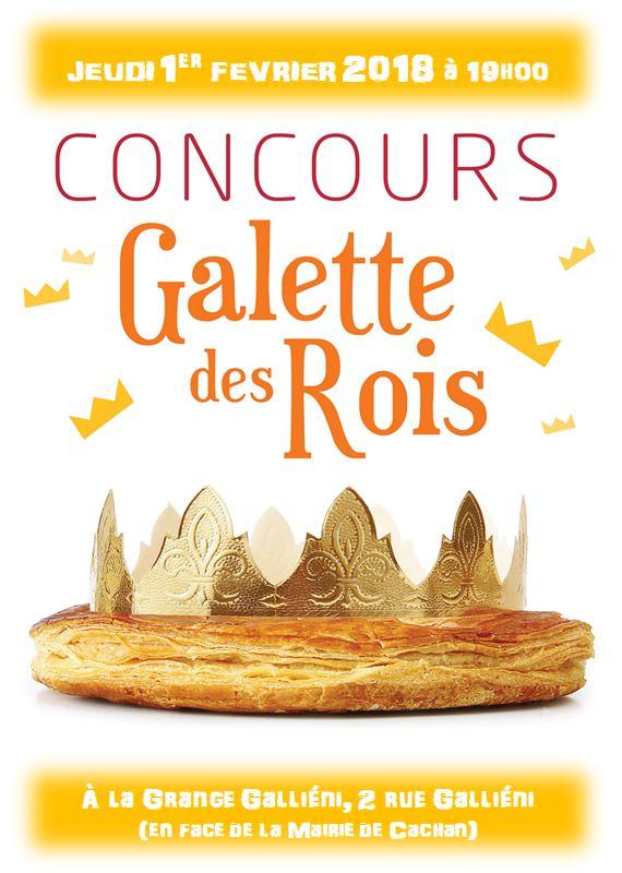 Concours de la Galette des rois @ La Grange Galliéni