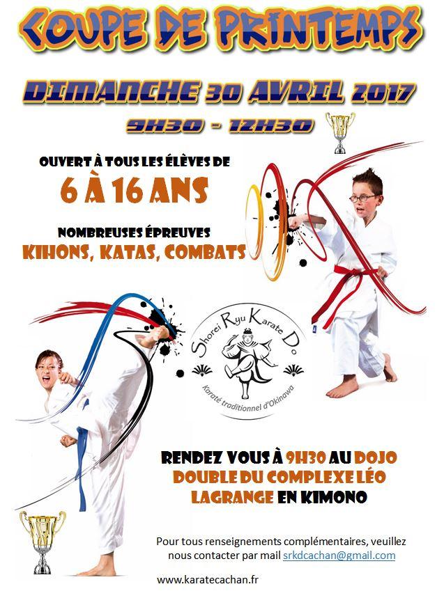 Coupe de printemps @ Dojos simple et double du Complexe Sportif Léo Lagrange