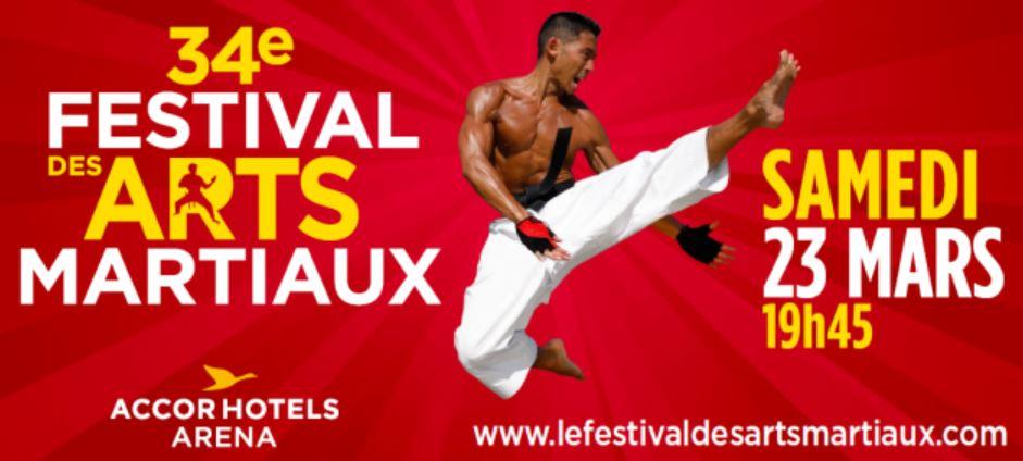 34ème Festival des Arts Martiaux