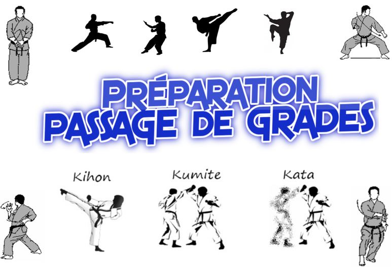 Dimanche 16 juin – Stage de préparation au passage de grades